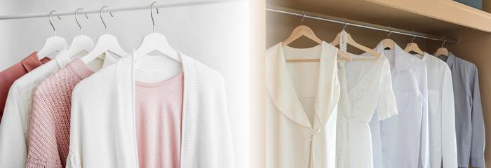 春に着たい白い服