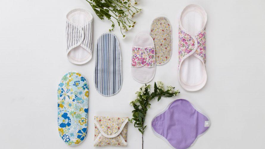 生理の始まりかけ、終わりかけには布ナプキンが便利!