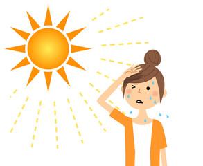 汗による肌トラブル