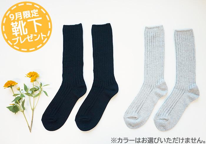靴下プレゼント