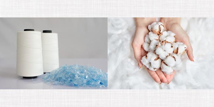 化学繊維と天然繊維