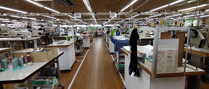 縫製ライン