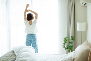 快眠-朝日を浴びる