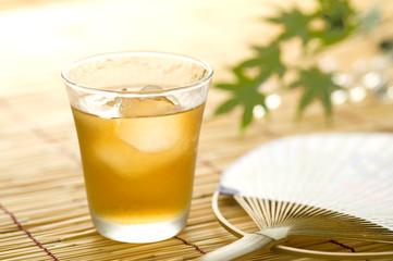 熱中症予防-麦茶