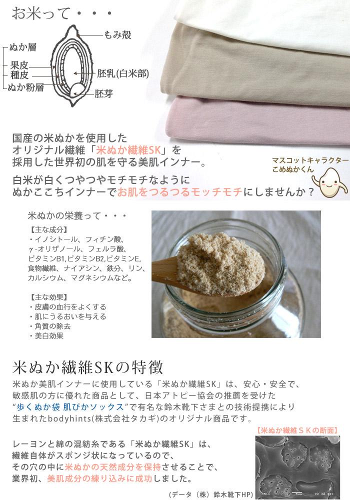 米ぬか繊維サニタリーショーツ 片袋